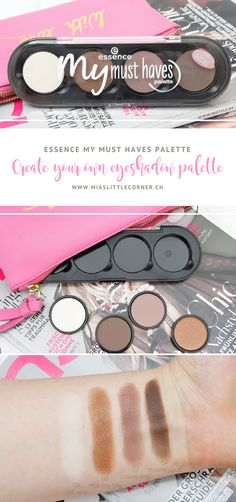 essence my must haves palette: create your own eyeshadow palette