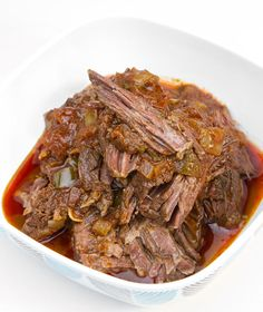 """Slow Cooker All-Beef """"South of Texas"""" Chili / @DJ Foodie / DJFoodie.com"""
