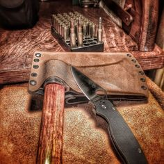 http://chicerman.com  bugoutchannel:  Custom Kydex project I did 6 months ago. #tomahawk #kydex #custom #diy #edc #bullets #hdr #hawk #throw #spyderco #paramilitary2 #s30v #carbonsteel #customkydex #308 #prepping #prepper #survival #bugoutbag #bushcraft #knife #knifenut #knifepics #knifeporn #knifecommunity #dailybadass #dailyknifepics @spyderco_inc  #accessories