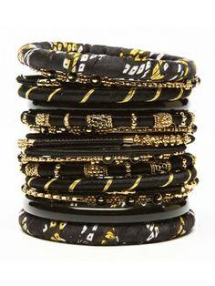 # BLACK & GOLD BRACE #bulgari #jewelry
