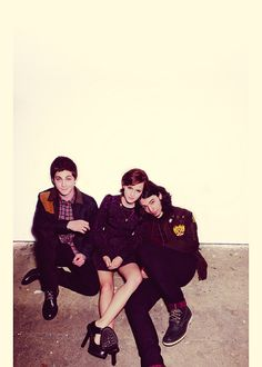 The Perks of Being a Wallflower cast for Nylon October 2012.