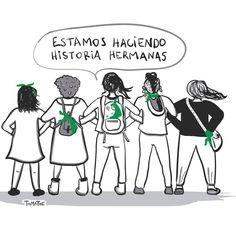 Hermanas estamos haciendo historia!💚✊🏻 #quesealey #abortolegalya #abortolegalseguroygratuito #abortolegalparanomorir #abortolegal #micuerpo…