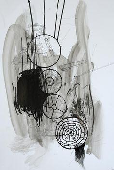 Dreamcatcher #1 by Thomas Dausell #art #artist #painting #drawing - Beauton Art Gallery - http://beautonart.com | http://beautonart.dk