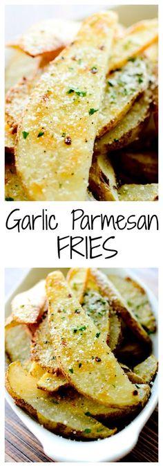 Garlic Parmesan Fries - Recipe Diaries /search/?q=%23potatoes&rs=hashtag