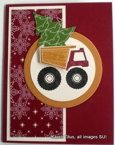 Stampin' Up! Card: Are You Thinking About Preparing for Christmas? | KarenTitus.com