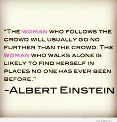 Albert Einstei Quote About Women – 8 March Quote