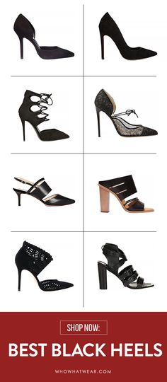 The best heels that fit your budget and lifestyle. // #Shoes