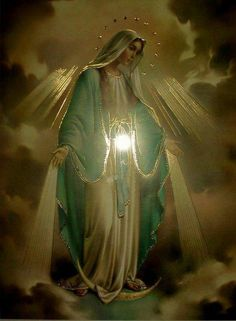 most holy and pure....most beloved Mother of our Lord and all those who pray to thee...please keep us and those we love in your most gracious prayers.  Thank you for your love and grace.