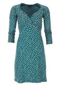 King Louie dress GINA margritte green