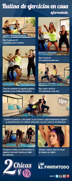 Hacer estos ejercicios te ayudarán a lucir unos glúteos bien tonificados ¡Inténtalos!