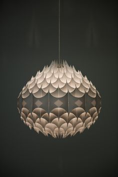 Havlova Milanda ceiling lamp Rythmic by Vest | via Studio Schalling