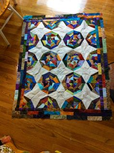 Not quilted yet. I'm really behind!
