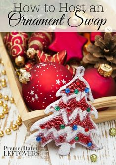 How to Host an Ornament Swap Party: Hosting a Christmas ornament swap party is an easy, fun, and frugal way to exchange Christmas gifts with friends.
