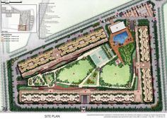 Tata Eureka Park Site Plan