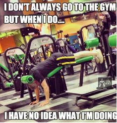 Check out: I don't always go to the gym. One of our funny daily memes selection. We add new funny memes everyday! Bookmark us today and enjoy some slapstick entertainment! Funny Shit, Haha Funny, Funny Memes, Funny Stuff, That's Hilarious, Silly Memes, Memes Humor, Gym Humor, Workout Humor
