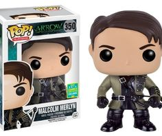 Arrow Malcolm Merlyn funko pop exclusive the black spot
