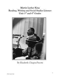 The Best of Teacher Entrepreneurs: Social Studies Lesson: Martin Luther King Junior T...