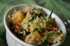 Lassens mango quinoa salad  lassensloves.com