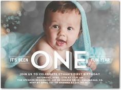 Fantastic Flares: Sea Glass - Birthday Party Invitations in Sea Glass | Stacey Day