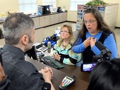 Transgender Couple Say They Got a Marriage License From Jailed Kentucky Clerk http://www.people.com/article/kentucky-clerk-kim-davis-issued-marriage-license-transgender-couple