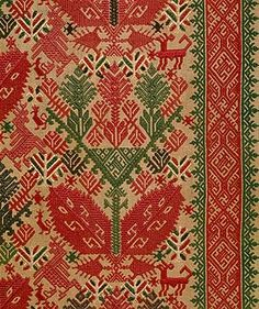 Panel from a set of Bed Curtains [Greek Islands, Cyclades] (64.278.1,2) | Heilbrunn Timeline of Art History | The Metropolitan Museum of Art