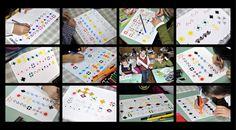 Semne Cusute: copiii invata motivele traditionale - lectia 1 Playing Cards, Games, Costume, Embroidery, Fancy Dress, Playing Card Games, Game, Costumes, Game Cards