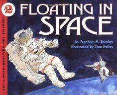 Floating In Space, part of children's book review list about outer space