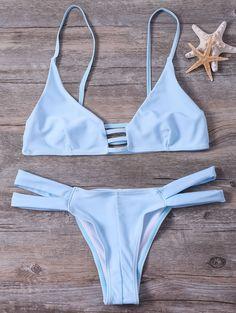 Cut Out Cami Bandage Bikini Set