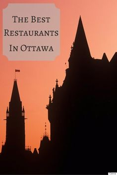 Best Ottawa Restaurants: Where To Eat In The Capital City Canada North, Ottawa Canada, Ottawa Ontario, Montreal Canada, Great Places, Places To See, Ottawa Restaurants, Visit Canada, Travel Oklahoma
