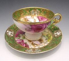 Old Noritake cup and saucer c1891