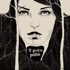 Manuel Rebollo. Illustration & Design: Il giardino proibito