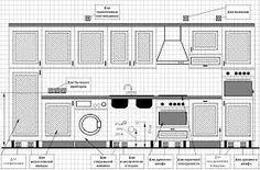 Картинки по запросу высота кухни