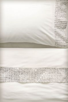 Typeface Bed Sheets