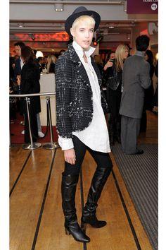 Agyness Deyn Style - Fashion Pictures of Agyness Deyn - Elle
