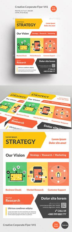 Education Flyer Temp Flyer Template Photoshop And Fonts