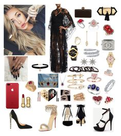 """""""Young fashion # 241"""" by demacracy on Polyvore featuring Elie Saab, Free Press, Gucci, Rolex, Allurez, Bee Goddess, David Yurman, Andrea Fohrman, Effy Jewelry and Karl Lagerfeld"""