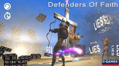 Defenders of Faith 2: Lies Shooter (Christian Game 2018) The Defenders 2 is based on the Bible verse: He (God) has made My mouth like a sharp sword. He has hidden Me in the shadow of His hand. He has made Me a shining arrow, keeping Me in His secret place. Isaiah 49:2