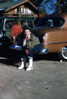 A day at the lake 1950s