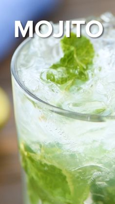 Mojito Cocktails are a quick and easy drink to make by the glass or cocktail! They are the perfect cocktail to make at home for a party or to enjoy at the end of the day. A mixture of mint, white rum, simple syrup and club soda for a refreshing drink! Mojito Pitcher, Mojito Drink, Mojito Cocktail, Mint Mojito, Pitcher Drinks, Paloma Cocktail, Mojito Mix, Cocktail With Mint, Best Rum For Mojitos