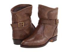 Frye Dorado Short in Taupe Antique. Handsome, yet feminine boot.