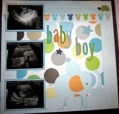 Baby Boy pg2 - Scrapbook.com