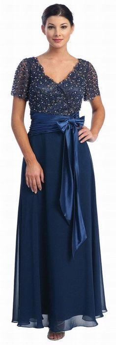 6 COLORS FORMAL MODEST MOTHER OF THE BRIDE GROOM LONG DRESS Sizes M To 5XL PLUS #Designer #Dress