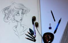zeichnen lernen, Portrait, zeichnen, drawing, Bleistiftzeichnung, Bleistift