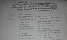 Dari Perjanjian Preman Ahok Akui Pemprop DKI Telah Terima Hampir Rp 38 Triliun