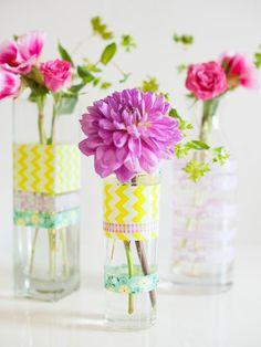 Bottle Beautifier - DIY Wedding Decor Anyone Can Make on HGTV