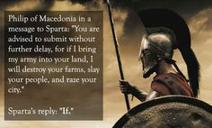 Philip of Macedonia vs. Sparta: