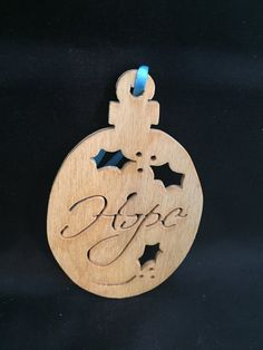 Christmas ornamentscroll saw woodworking Nativity Ornaments, Handmade Ornaments, Christmas Ornaments, Christmas Tree With Gifts, Handmade Christmas, Military Ribbons, Baltic Birch Plywood, Scroll Saw, Woodworking