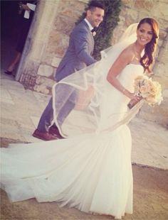 Natalie Nunn Wedding Dress