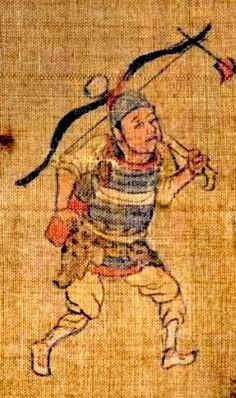 Chinese Armor, Traditional Chinese, Archery, Warfare, Armour, Artworks, China, Painting, Bow Arrows