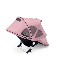 Bugaboo Bee Breezy Sun Canopy- Soft Pink | parasols & canopies | Mothercare